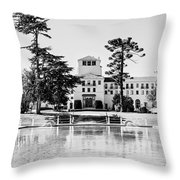 Hotel Del Monte - Bw Throw Pillow