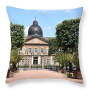Hotel Dieu - Macon Throw Pillow