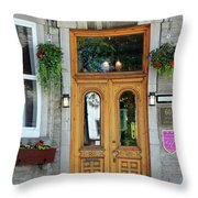 Hotel Ermitage Quebec City  6526 Throw Pillow