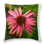 Hotel Garden Throw Pillow