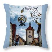 Hotel Goldener Hirsch Throw Pillow