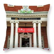 Hotel In Charlottetown Throw Pillow