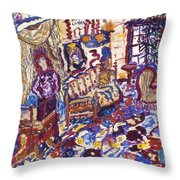 Hotel Costes Throw Pillow