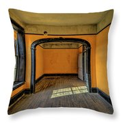 Hotel Mead Throw Pillow