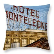 Hotel Monteleone - New Orleans Throw Pillow