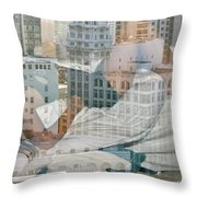 Hotel Phelan Reflection Throw Pillow