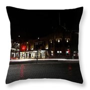 Hotel Stayne And Manly Throw Pillow