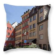 Hotel Suisse Strasbourg France Throw Pillow