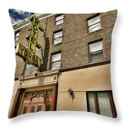 Hotel Yorba Throw Pillow