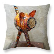 Hototo Kachina Throw Pillow