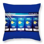 Hott Throw Pillow