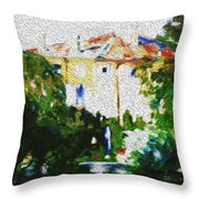 Hottest Day Throw Pillow