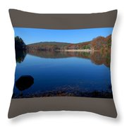 Houghtons Pond Throw Pillow