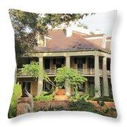 Houma Plantation Throw Pillow