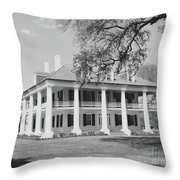 Houmas House Throw Pillow