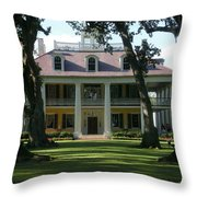 Houmas House Plantation Throw Pillow