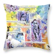 Hound Of Ulster Throw Pillow