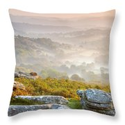 Hound Tor Throw Pillow