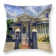 House # 22 Throw Pillow