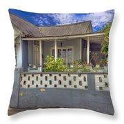 House # 5 Throw Pillow