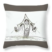 House  2 Throw Pillow