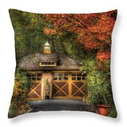 House - Classy Garage Throw Pillow