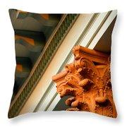 House Column Throw Pillow