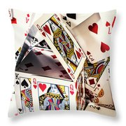 House Edge Throw Pillow