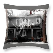 House In The Middle  Throw Pillow