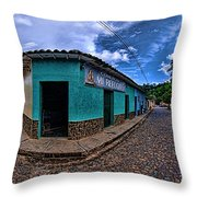 House Of Altagracia De Orituco Throw Pillow