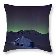House Of Blue Throw Pillow