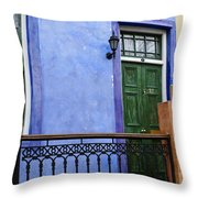 House Of Color 2 Throw Pillow