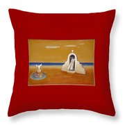 House Of Eros Throw Pillow