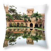 House Of Hospitality Throw Pillow