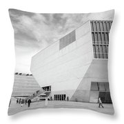House Of Music Throw Pillow