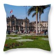 House Of Pizarro Throw Pillow
