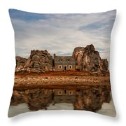 House Of Silence Throw Pillow