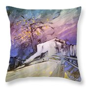 House Of The Blues Throw Pillow