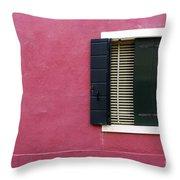 House Of Venice - Magenta Throw Pillow