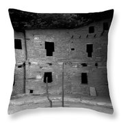 House Of Windows Throw Pillow