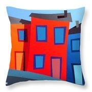 House Party 12 Throw Pillow