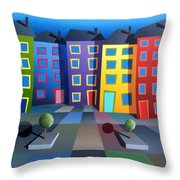 House Party 20 Throw Pillow