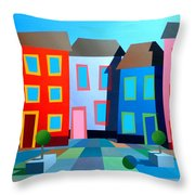 House Party 8 Throw Pillow