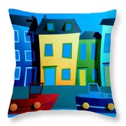 House Party 9 Throw Pillow