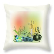 House Plants 3000  Throw Pillow