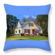 House Proud In Cary Throw Pillow