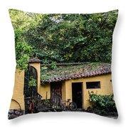 House Suchitoto Throw Pillow