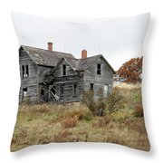 House With A View Throw Pillow