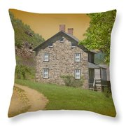 Housebythemountain Throw Pillow
