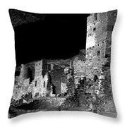 Houses Of The Holly Throw Pillow